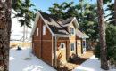 Дом из бруса 7x8,5 купить в СПб