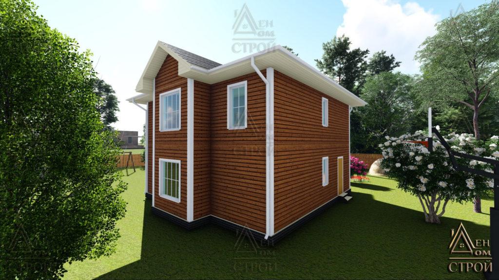 Дом из бруса 9х9 двухэтажный купить в Санкт-Петербург