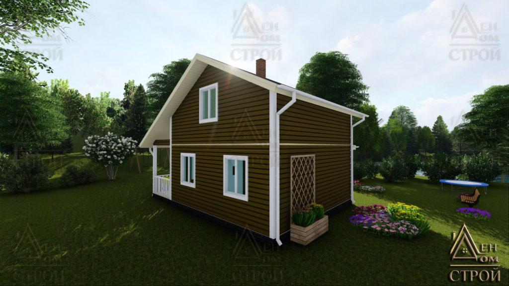 Каркасный дом 7x8 купить в Санкт-Петербурге