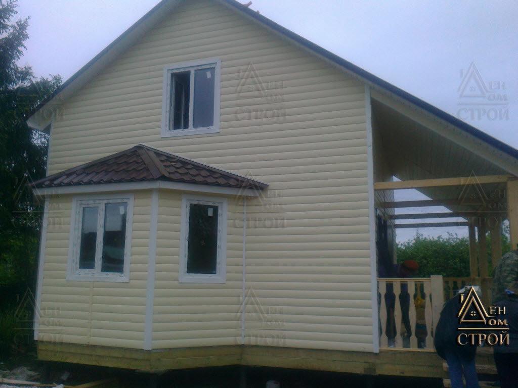 Купить каркасный дом 7x8 в Санкт-Петербурге и ЛО