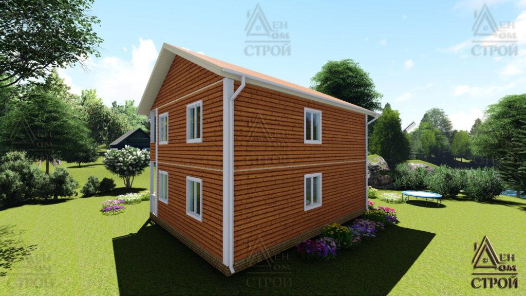 Каркасный дом 7х9 двухэтажный купить в санкт-петербурге