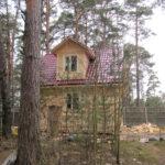 Дачный дом из бруса в Санкт-Петербурге и Лен обл
